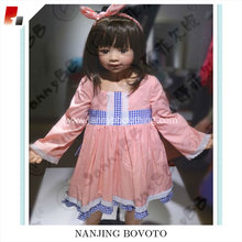 kids latest dress designs long sleeve dress